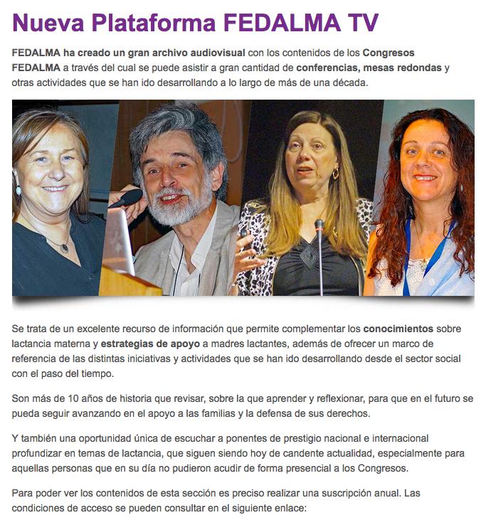 FEDALMA TV
